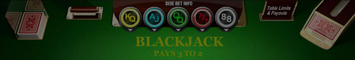 Blackjack s stranskimi stavami